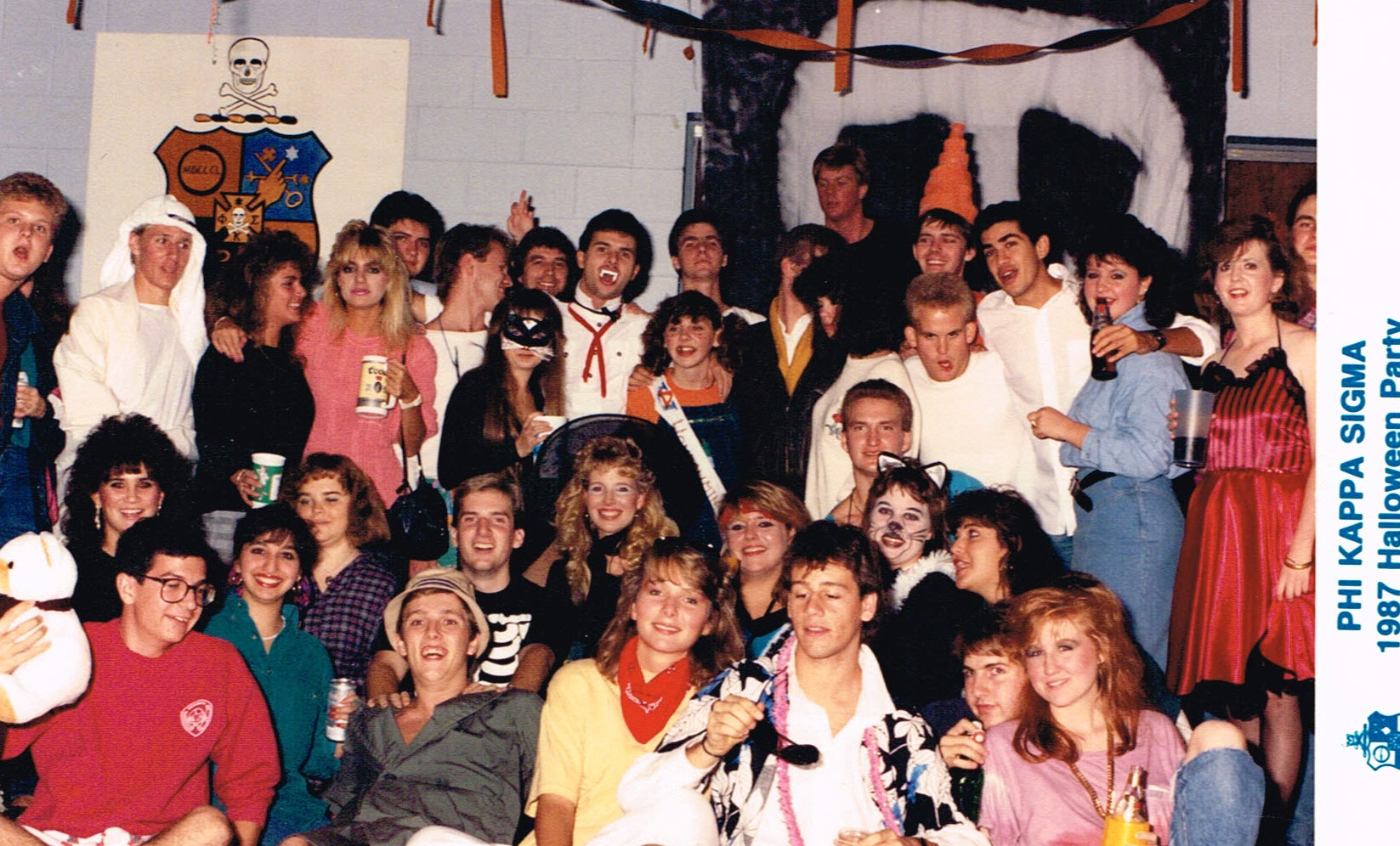 1987 Halloween Party