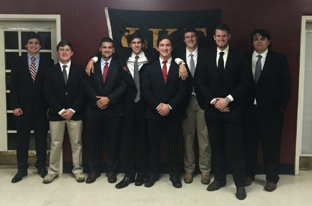 The Spring 2016 Pledge Class