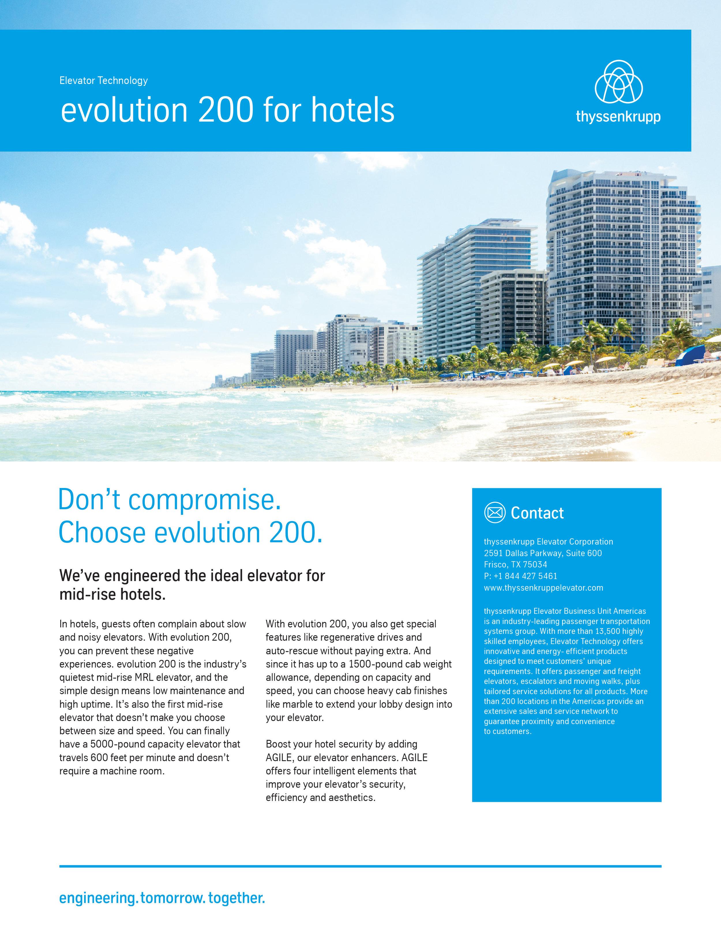 evolution hotels