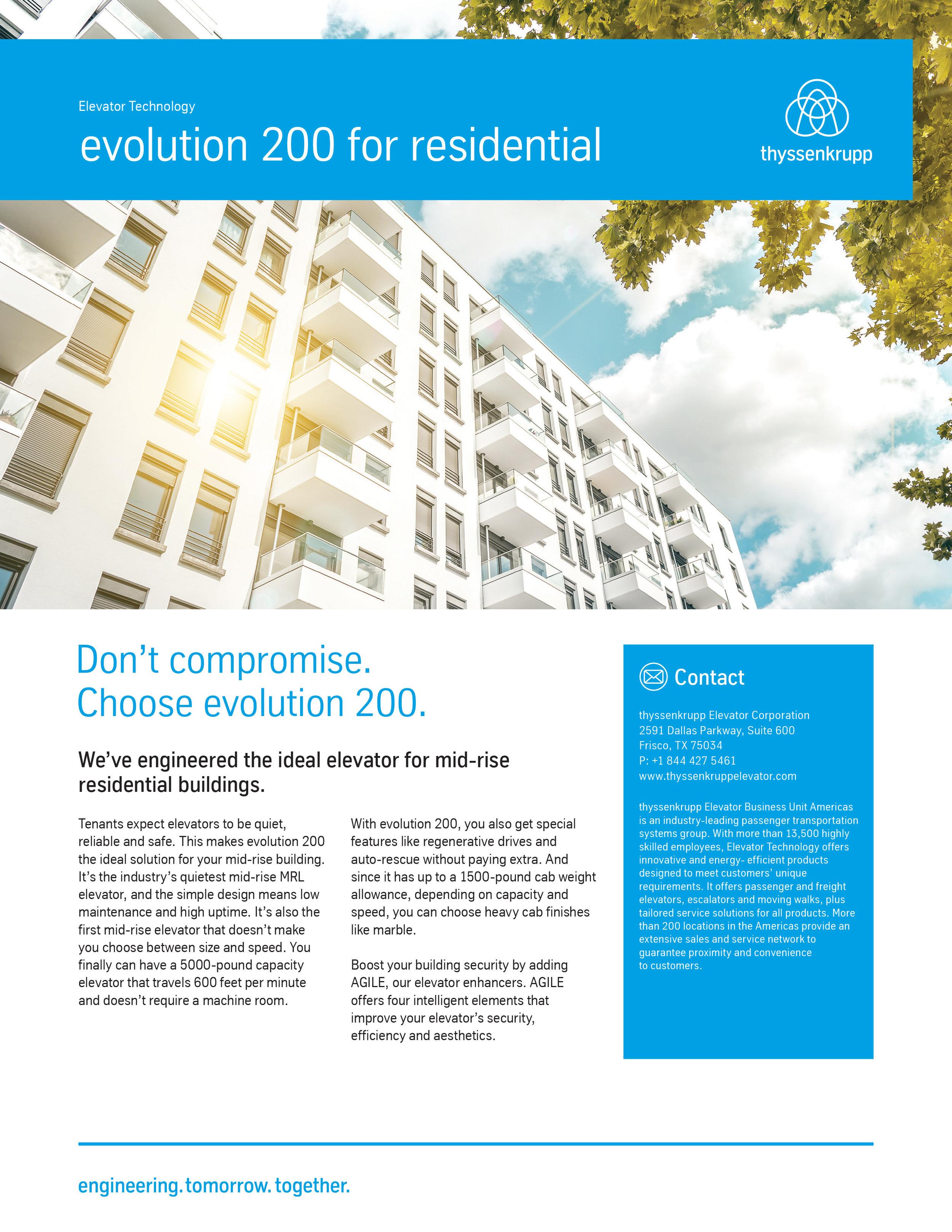 evolution residential