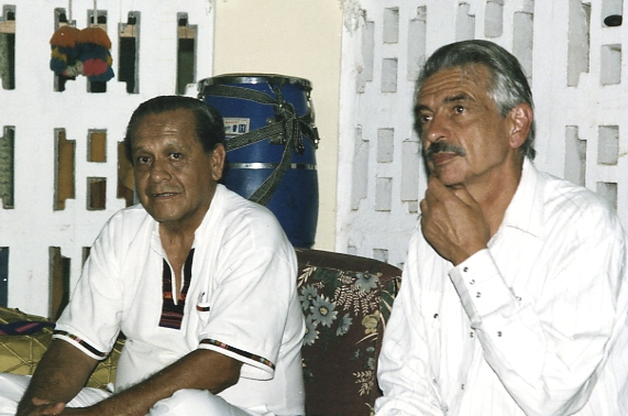 Dr. Jorge Gonzales and Dr. Makito