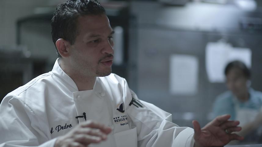 Chef Pedro - New York Rescue Mission