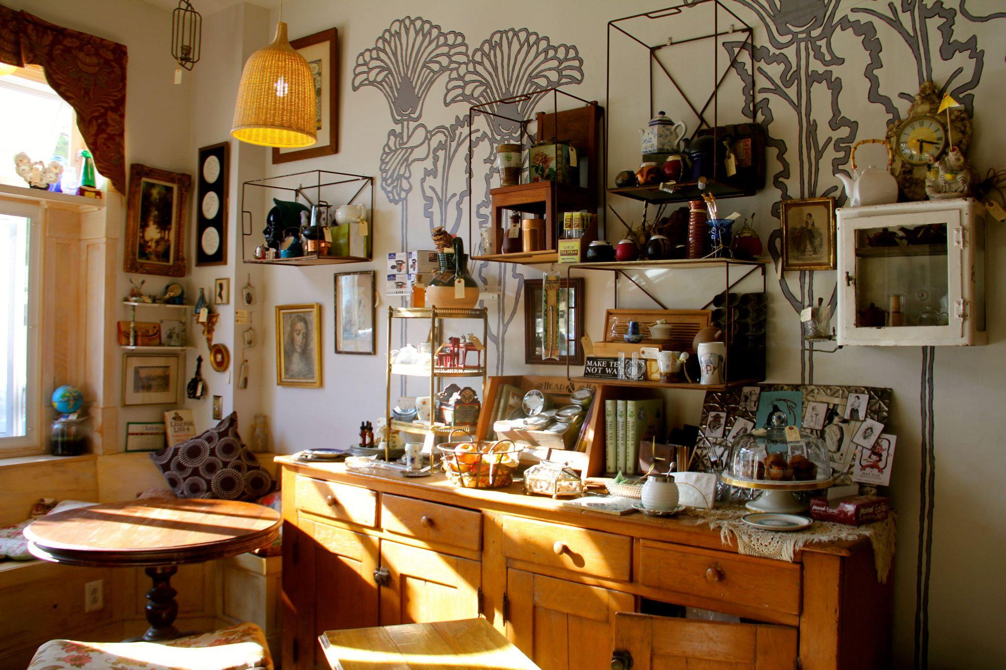Random Tea Room & Curiosity Shop, Philadelphia, PA, USA