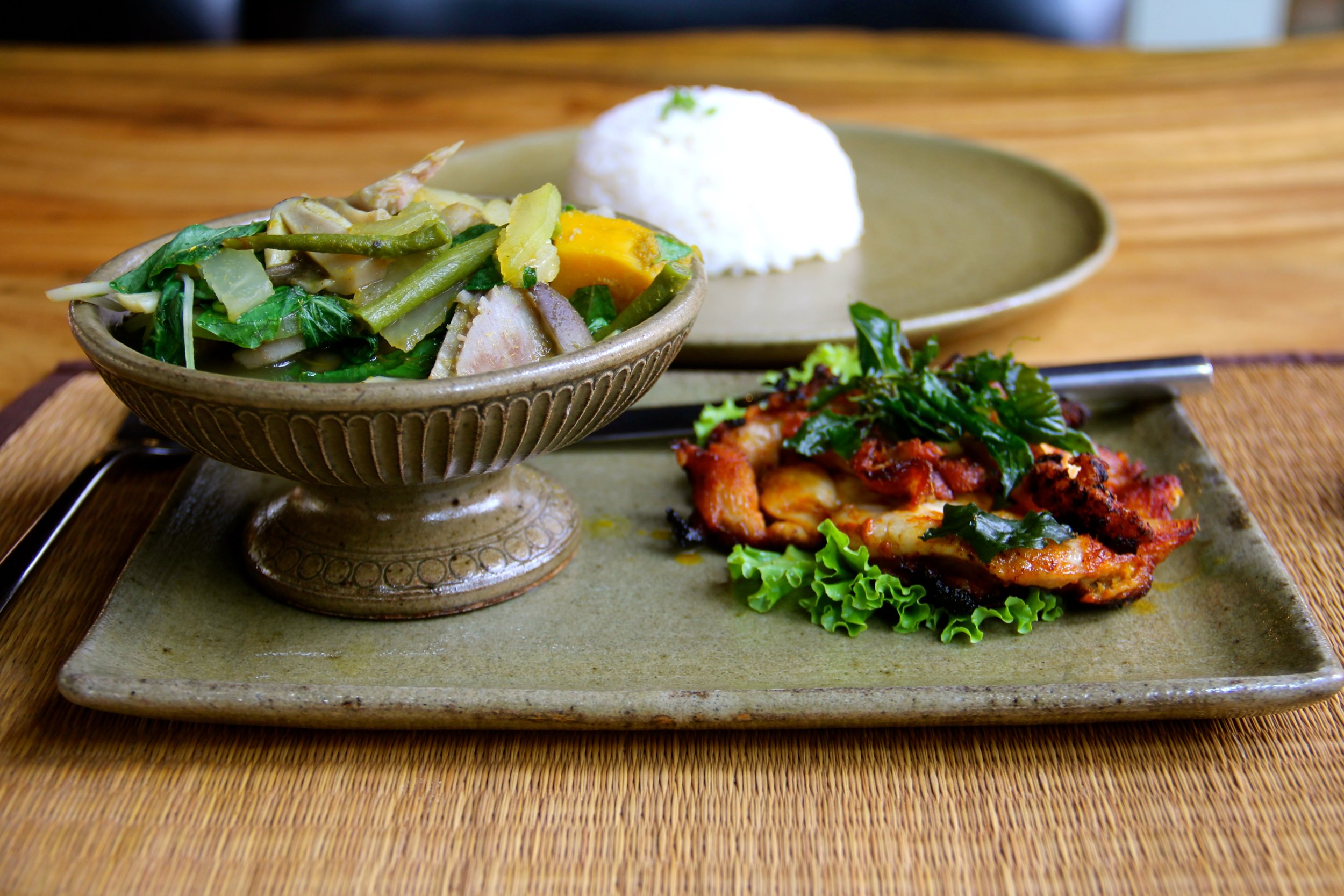 Roast Chicken, Rohatt Cafe, Siem Reap, Cambodia