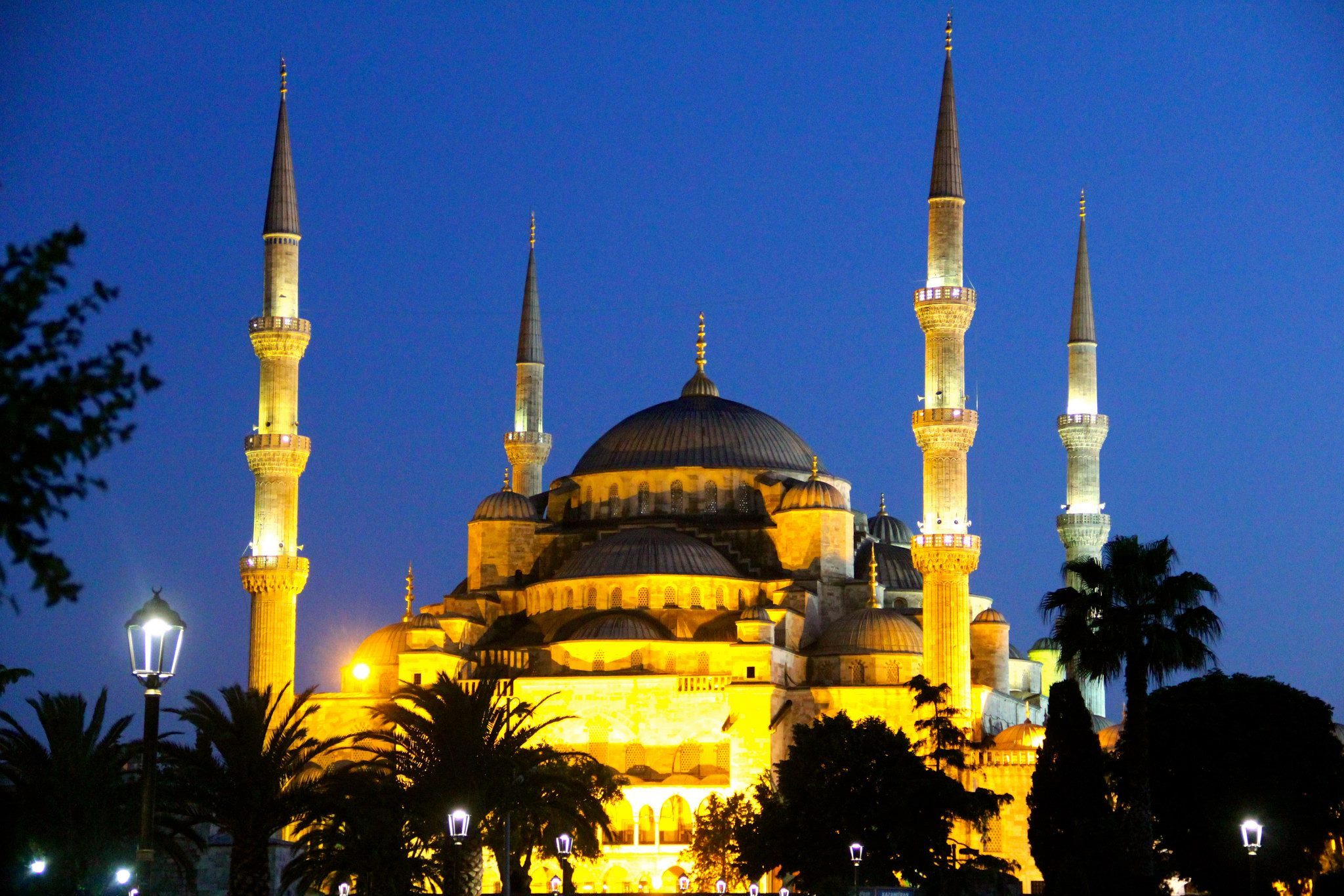 The Blue Mosque, Istanbul, Turkey