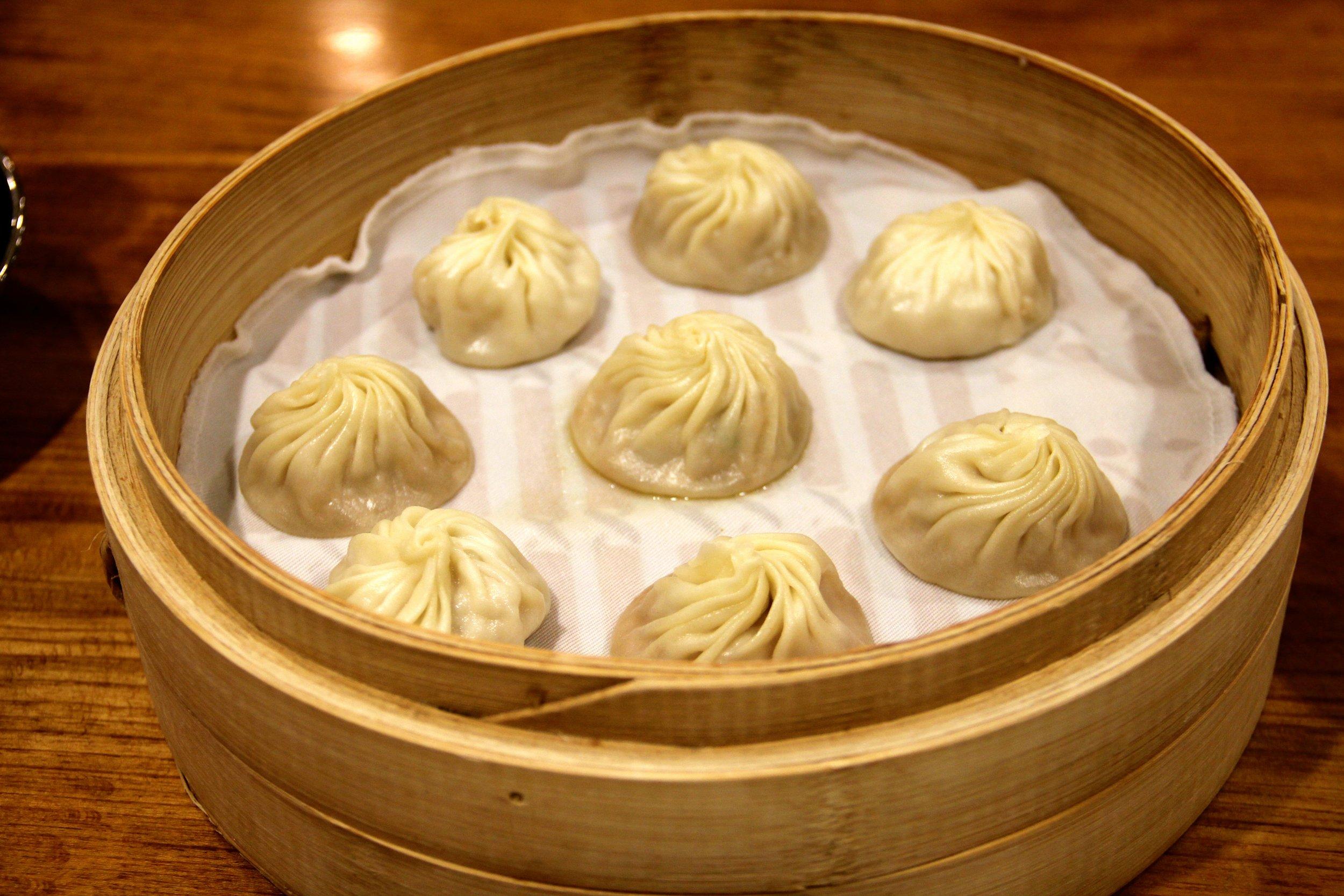 Xiao Long Bao (Pork Soup Dumplings), Din Tai Fung, Taipei, Taiwan
