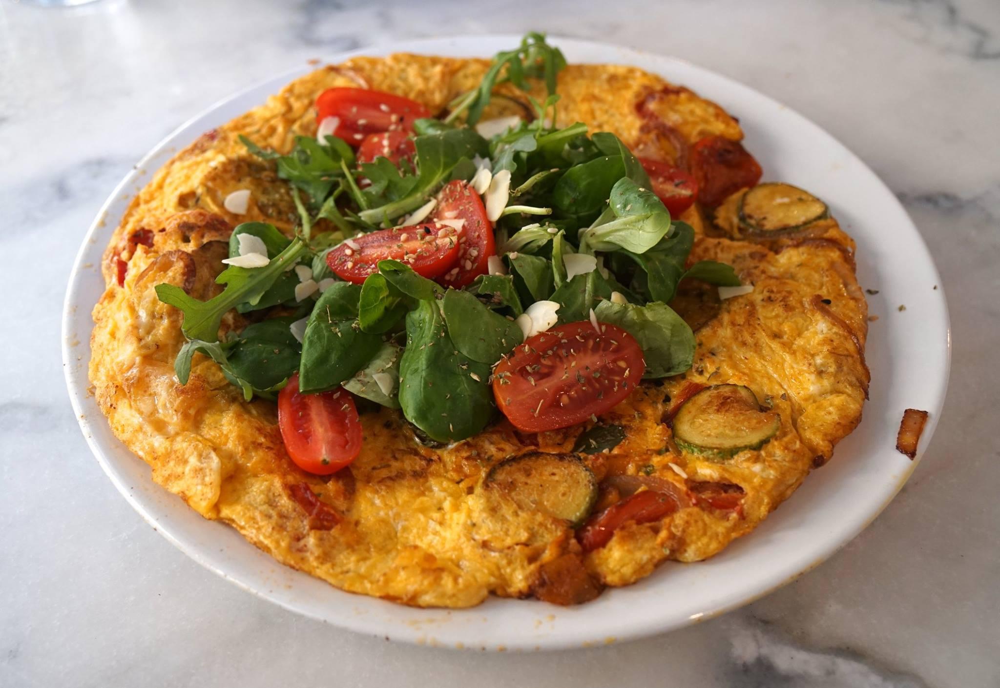 Veggie Omelette, Spiti Mas, Athens, Greece