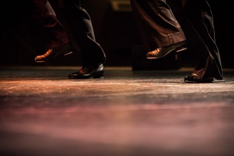 Step dancing feet