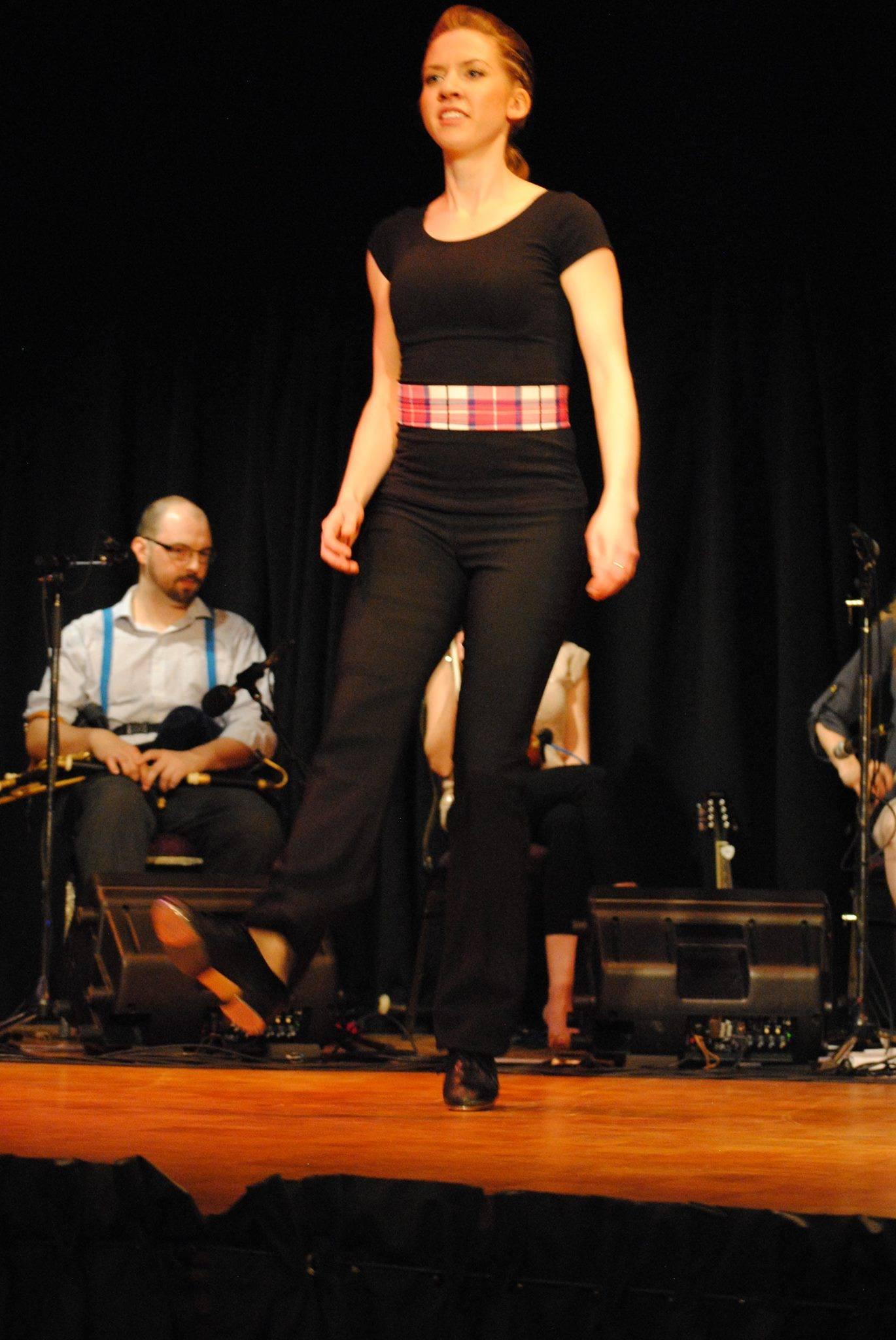 Janine Stepdancing