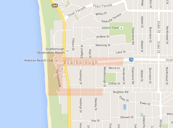 Scarborough Beach Area