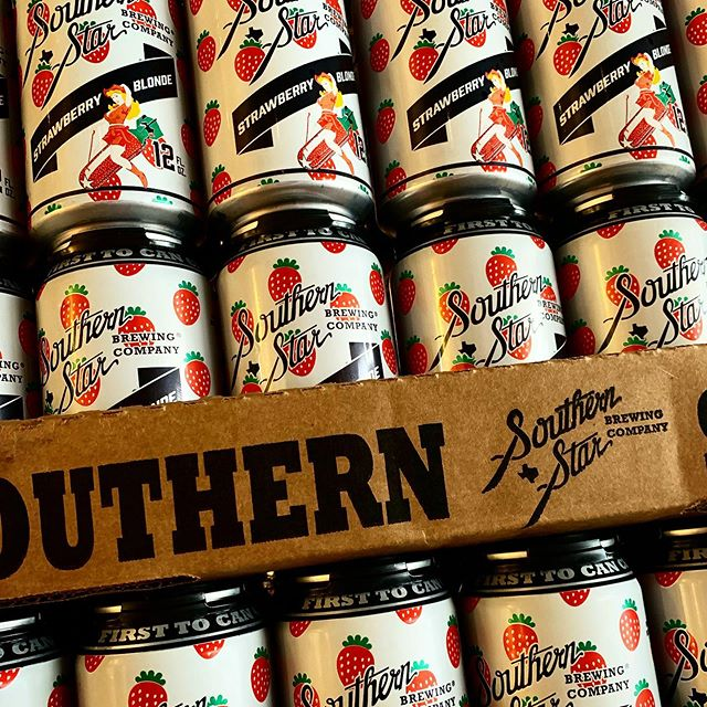 Hey gurl. @southernstarbrewingco says summers here. Come grab some for the hot weekend. #craftnotcrap #strawberryblonde #supportsmallbusiness #supportlocal