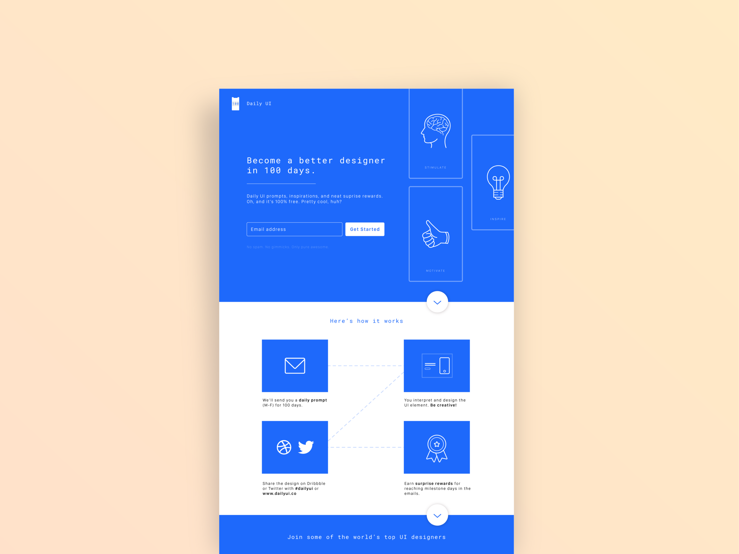 Daily UI - 100 Day Challenge
