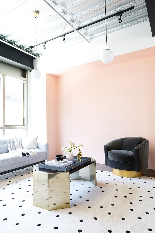 This Celebrity Hairstylist's New Studio Is the Definition of Eclectic - Complete with Instagrammable pink wall.MYDOMAINE
