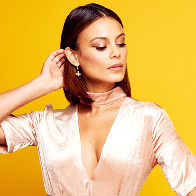 Dynasty Star Nathalie Kelley on Beauty, Wellness, and Embracing Dark Circles - BYRDIE