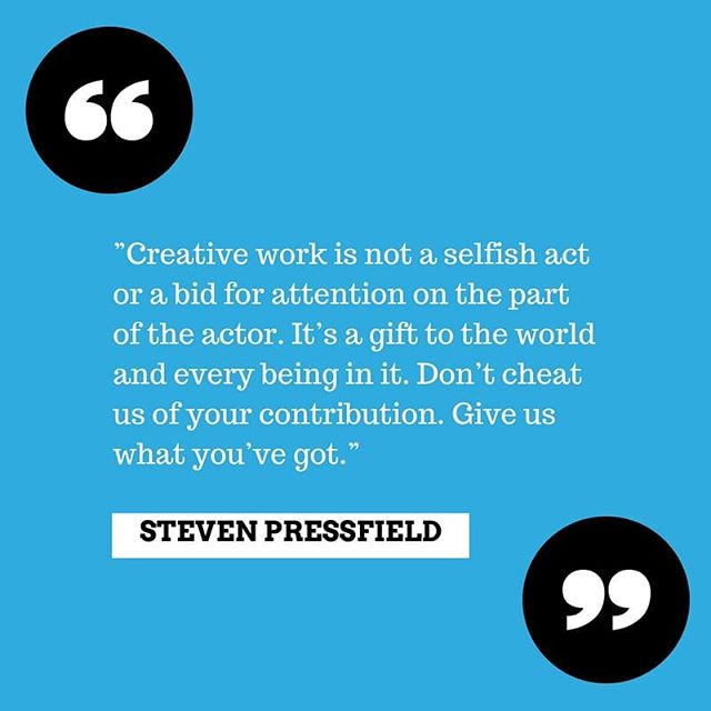 """Remember this, creators. We know what it's like to think that sharing your creative work can seem like a command or seeking of attention, or that you can be bogged down by your need to share, thinking """"am I selfish for wanting this?"""" You are not. You have a gift. When you are compelled to share, share! You have the ability to give to the world something they've never heard, seen or felt. Never stop creating. For you and for others 🙌🏻 Create. Give. Live. #motivationalquotes #motivationmonday  #baltimore #baltimoremusic #musicquotes #artquotes #motivationquotes #motivation #motivationforartists"""