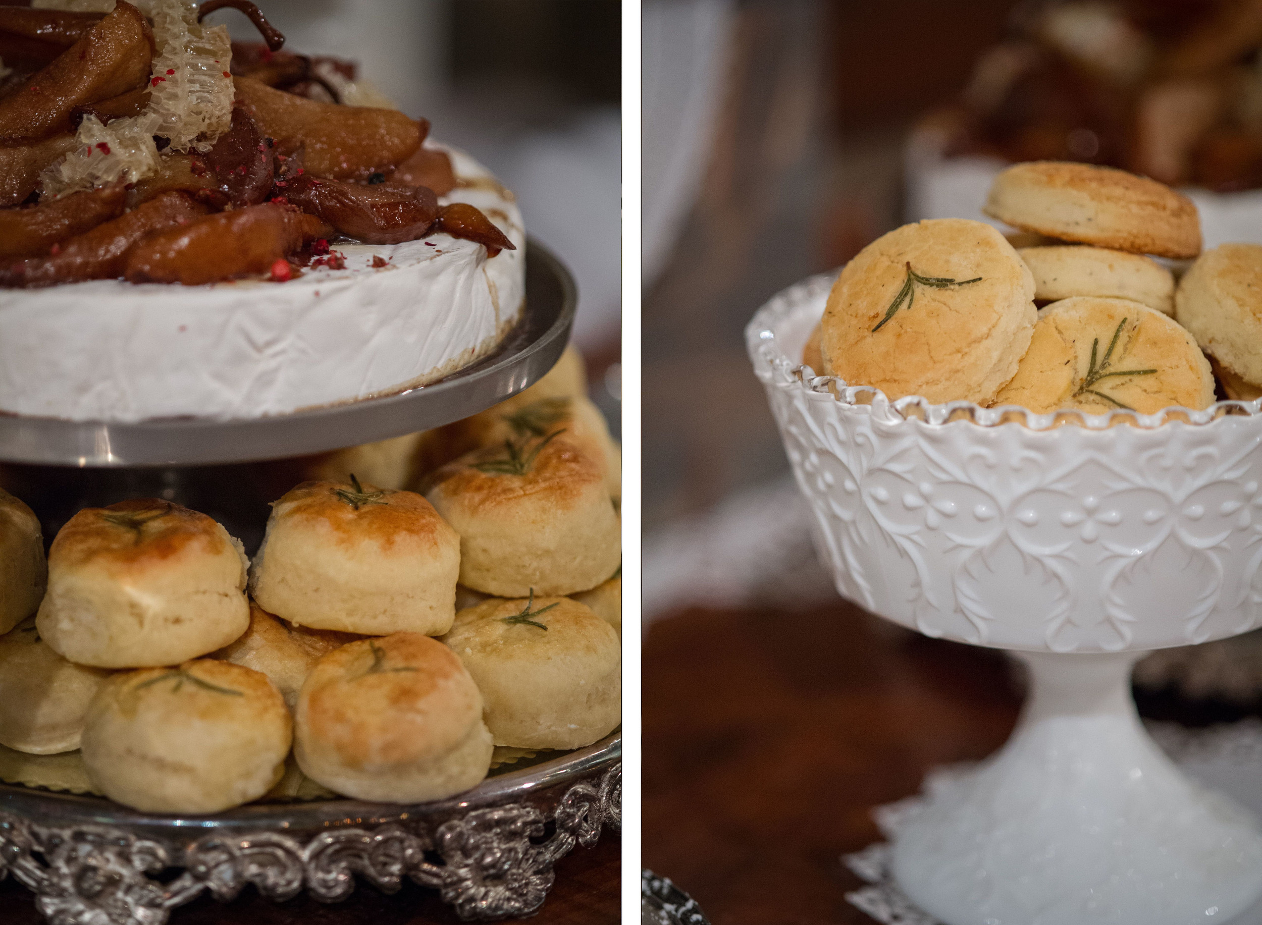 Biscuits and GF Biscuits and Brie