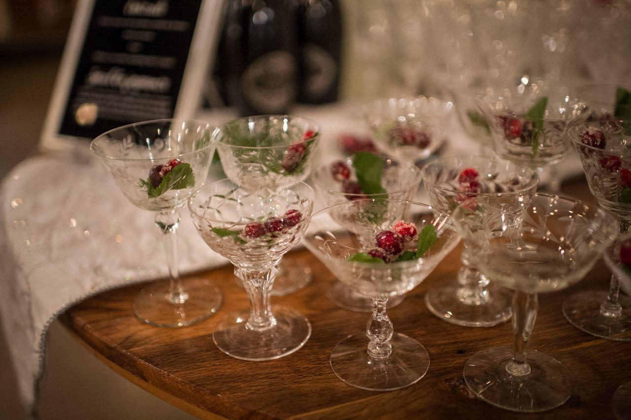 Cranberry Cocktail Party Prep