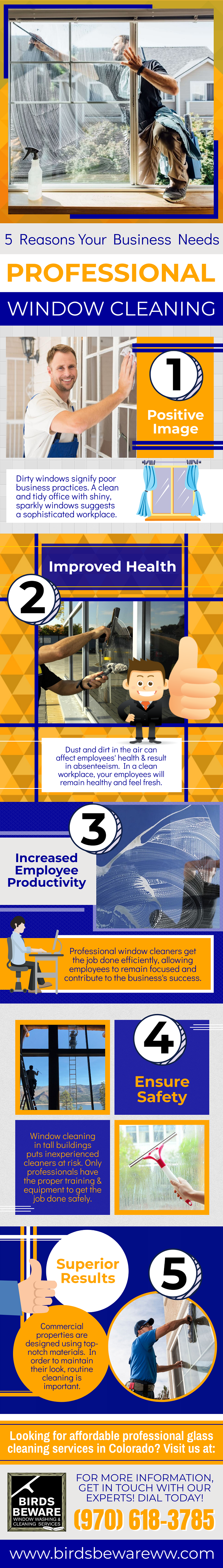 5 Reasons Your Business Needs Professional Window Cleaning