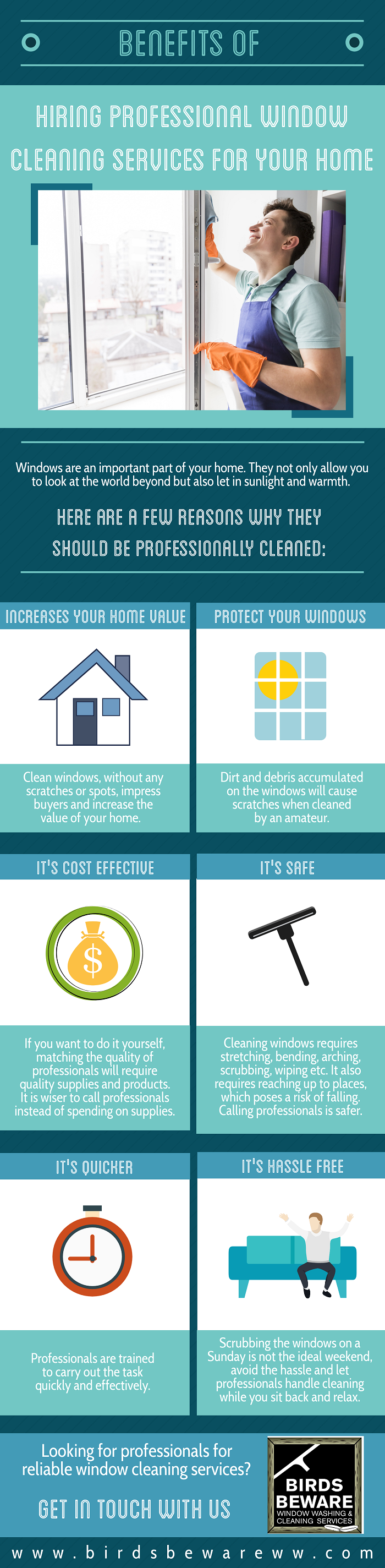Benefits of Hiring Professional Window Cleaning Services For Your Home