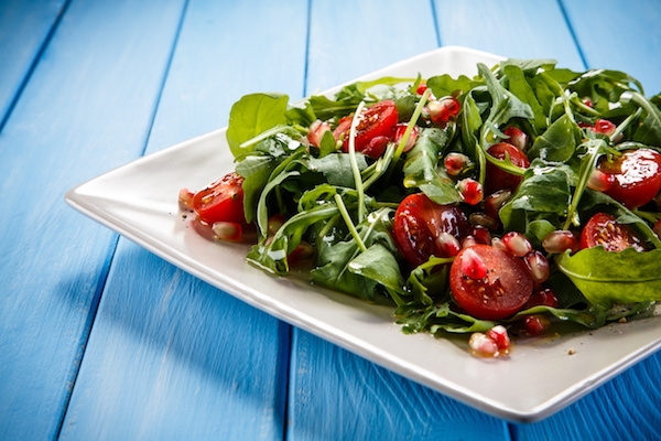 Rocket, Cherry Tomato and Pomegranate Salad