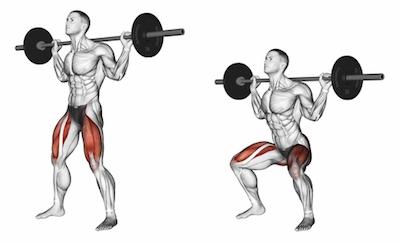 Barbell Back Squats