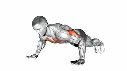 Wide-Hand Push Up