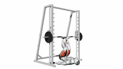 Inverted Smith Machine Leg Press