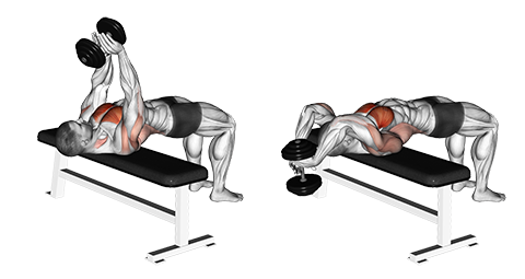 Straight Arm Dumbbell Pullover