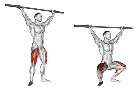 Barbell Overhead Squats