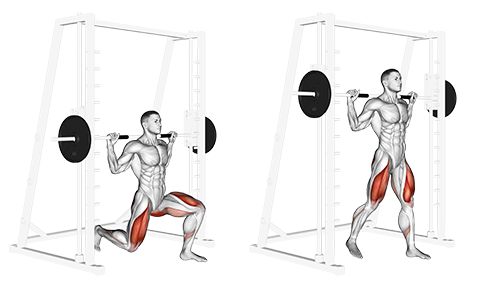 Smith Machine Split Squat