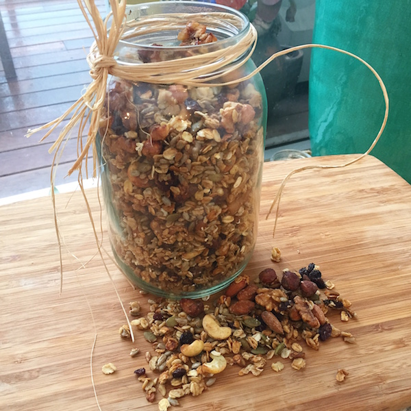 Home-Made Nut Granola