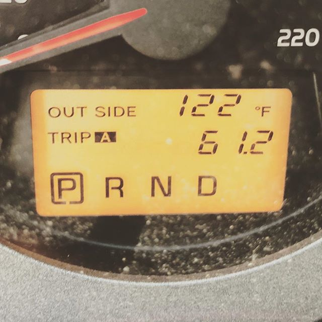 I guess summer is here!  #toohot #summerheat #summerheatwave