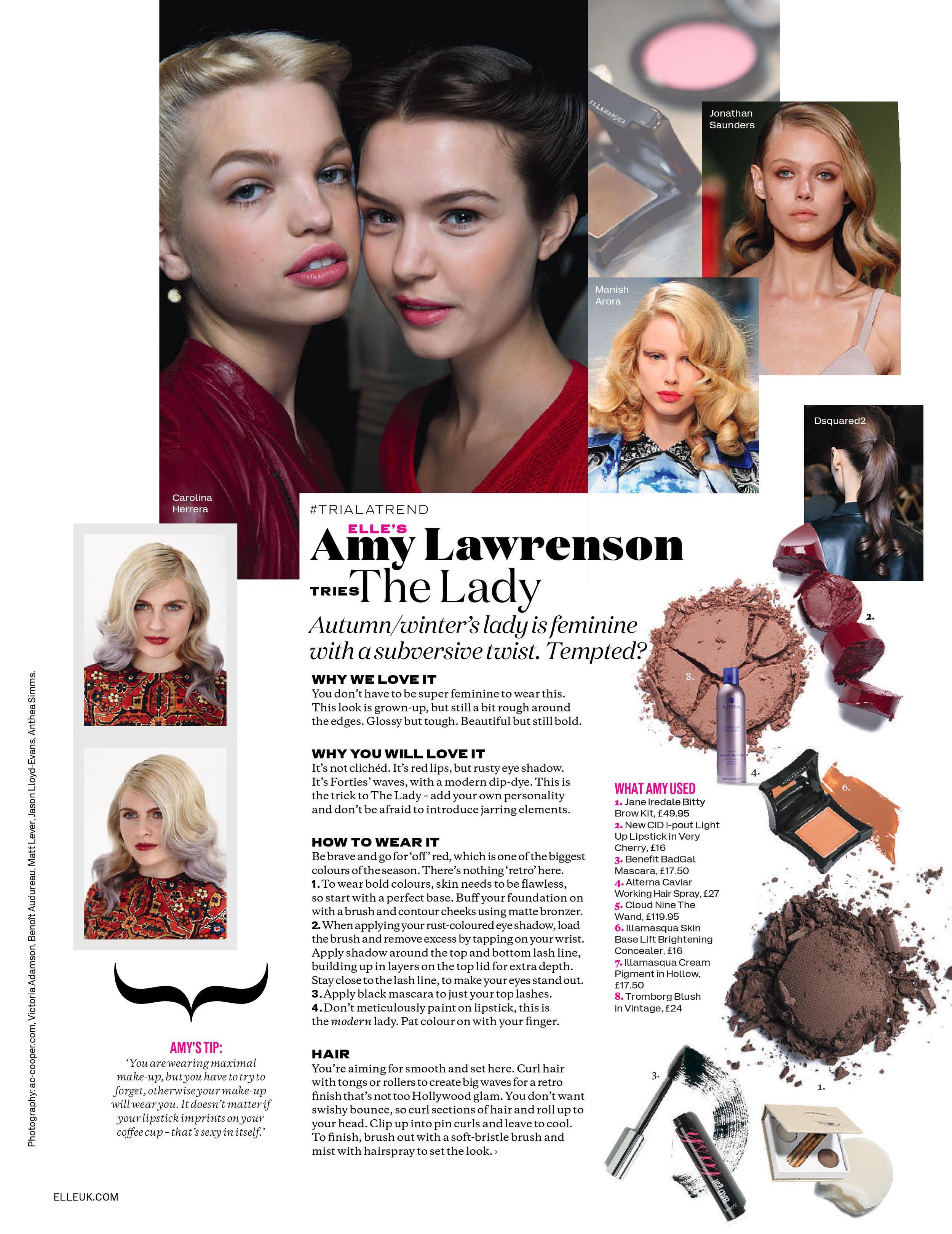 Amy Lawrenson Tries The Lady