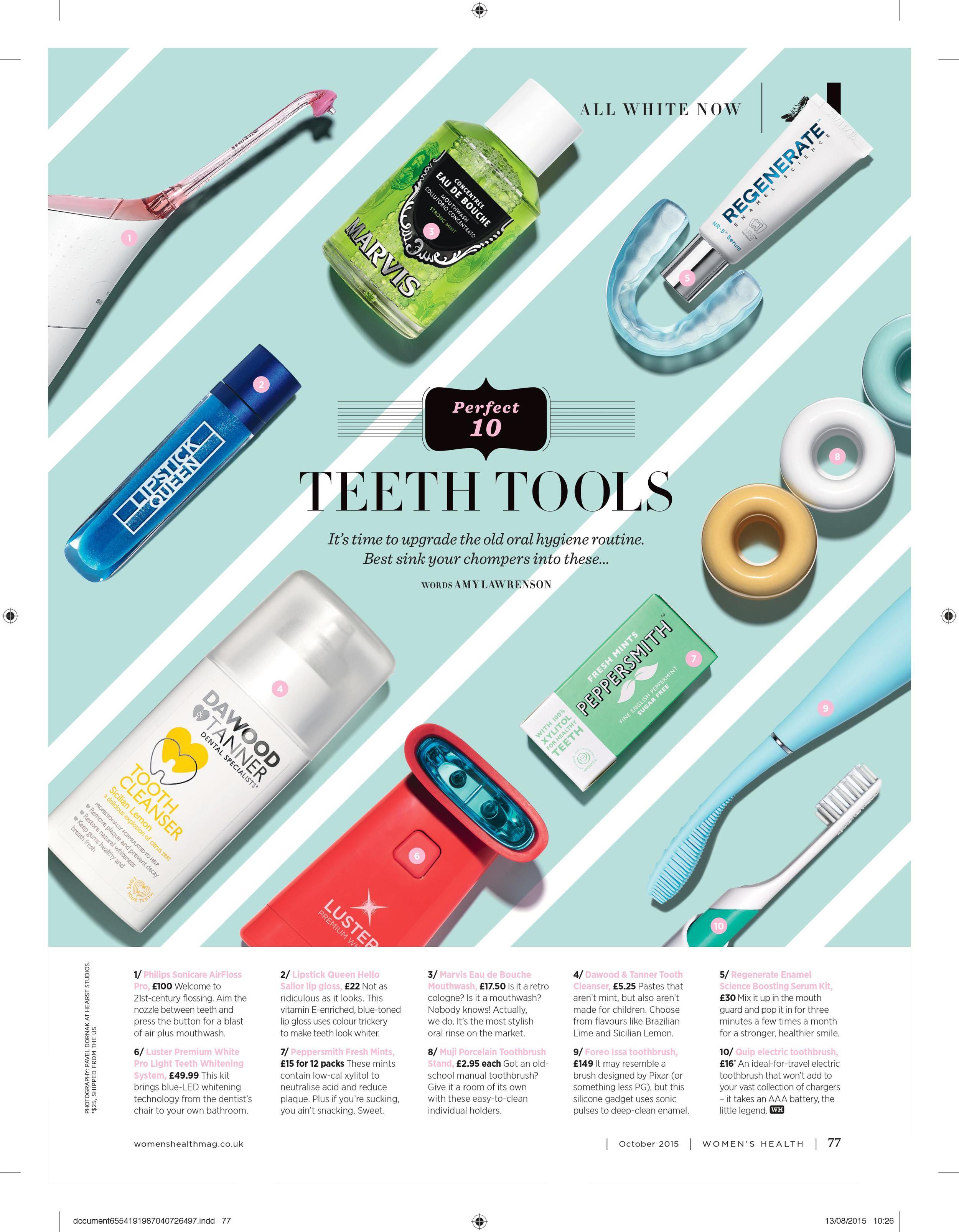 Perfect 10: Teeth Tools