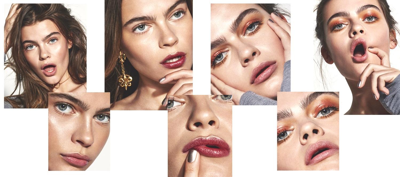 Metallic Makeup Shoot   Byrdie UK