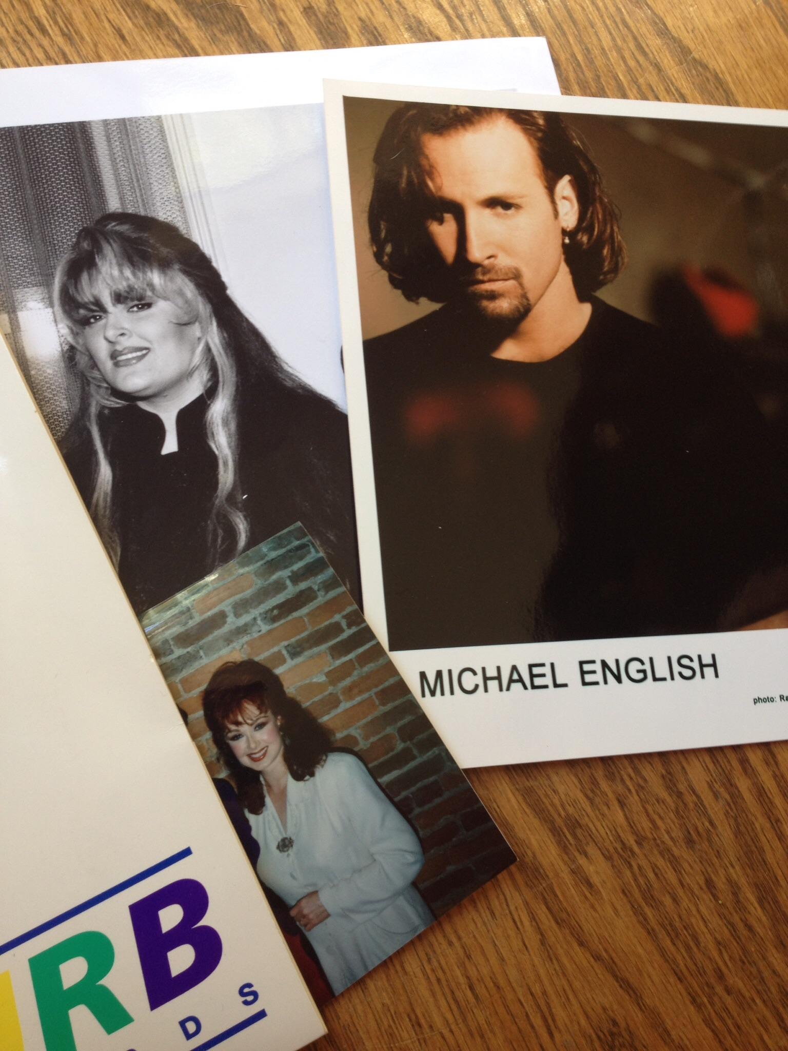 Wynonna, Michael English & snapshot of Naomi.