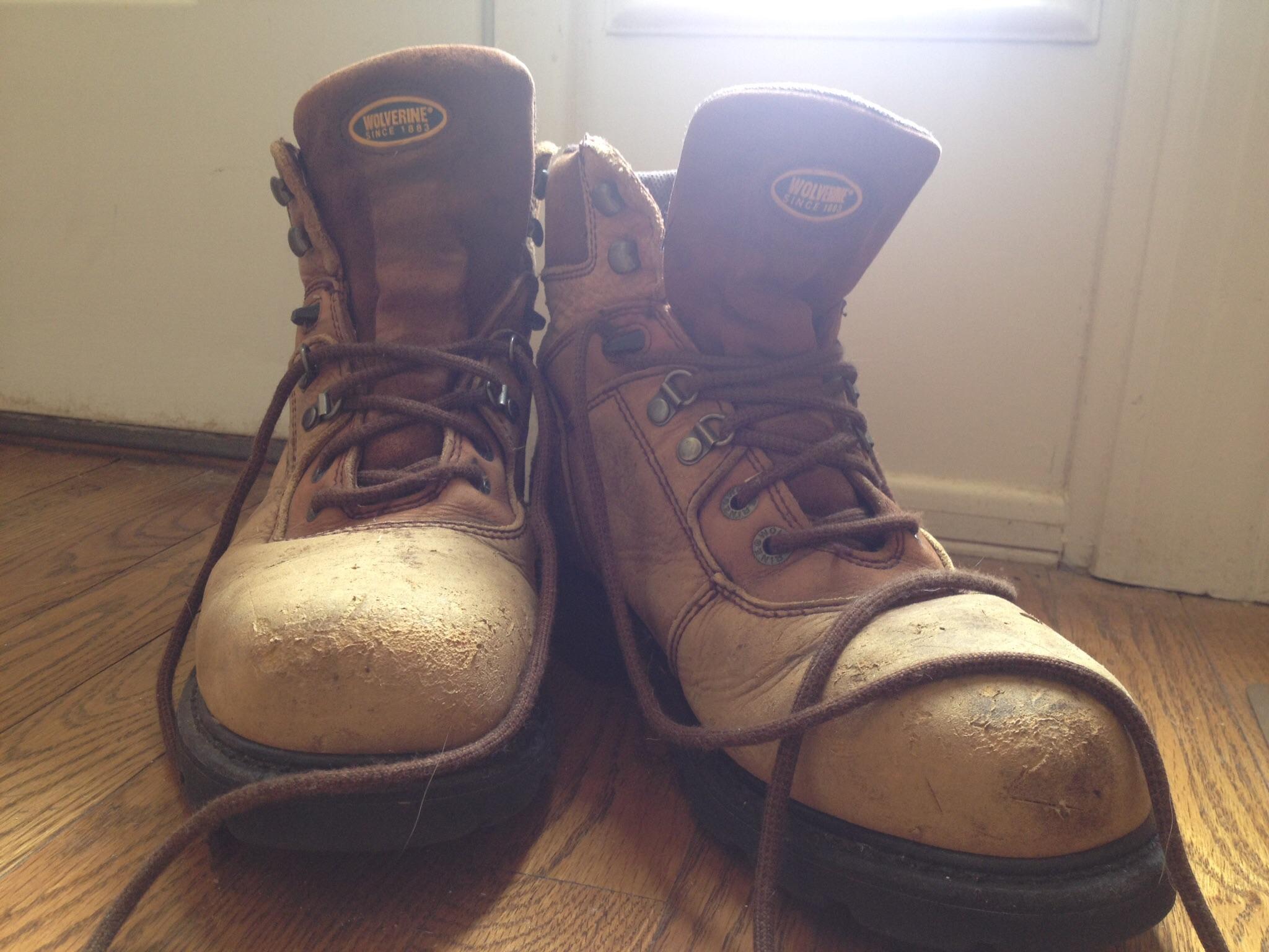 Daddy's Wolverine work boots