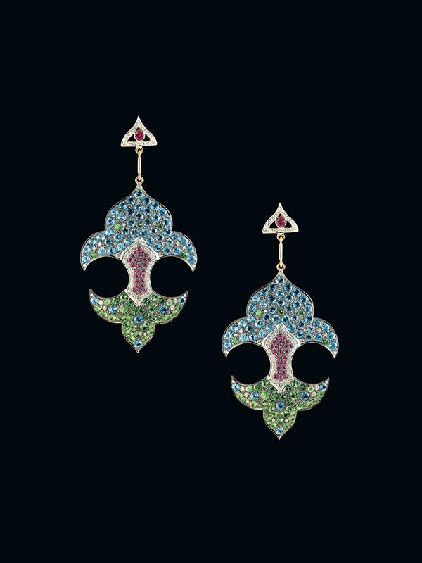 Mughal Fleur De Lis