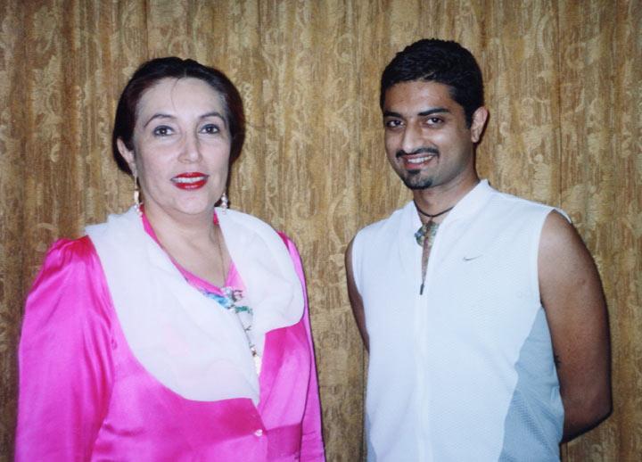 Benazir Bhutto with Hanut Singh