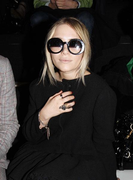 Mary Kate Olsen, Paris, 2008