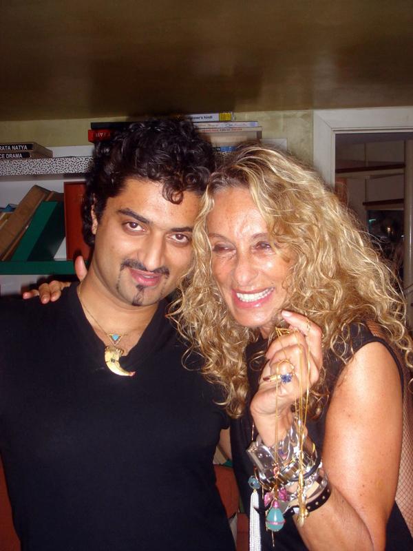 Hanut Singh with Ann Dexter Jones