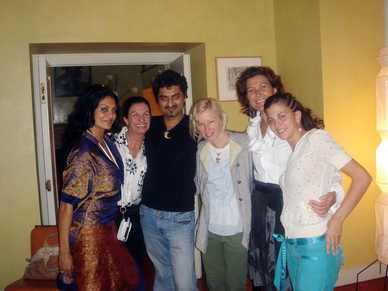 Donna D'Cruz, Alba Clemente, Hanut Singh, Cindy Sherman, Nessia Pope and Nina Clemente