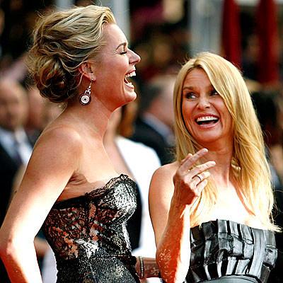 Rebecca Romijn at the Screen Actors Guild Awards