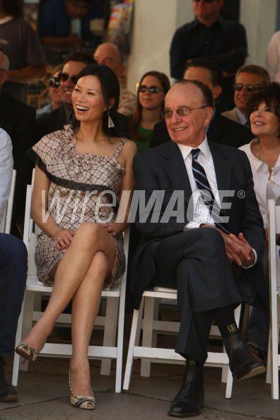Wendi and Rupert Murdoch