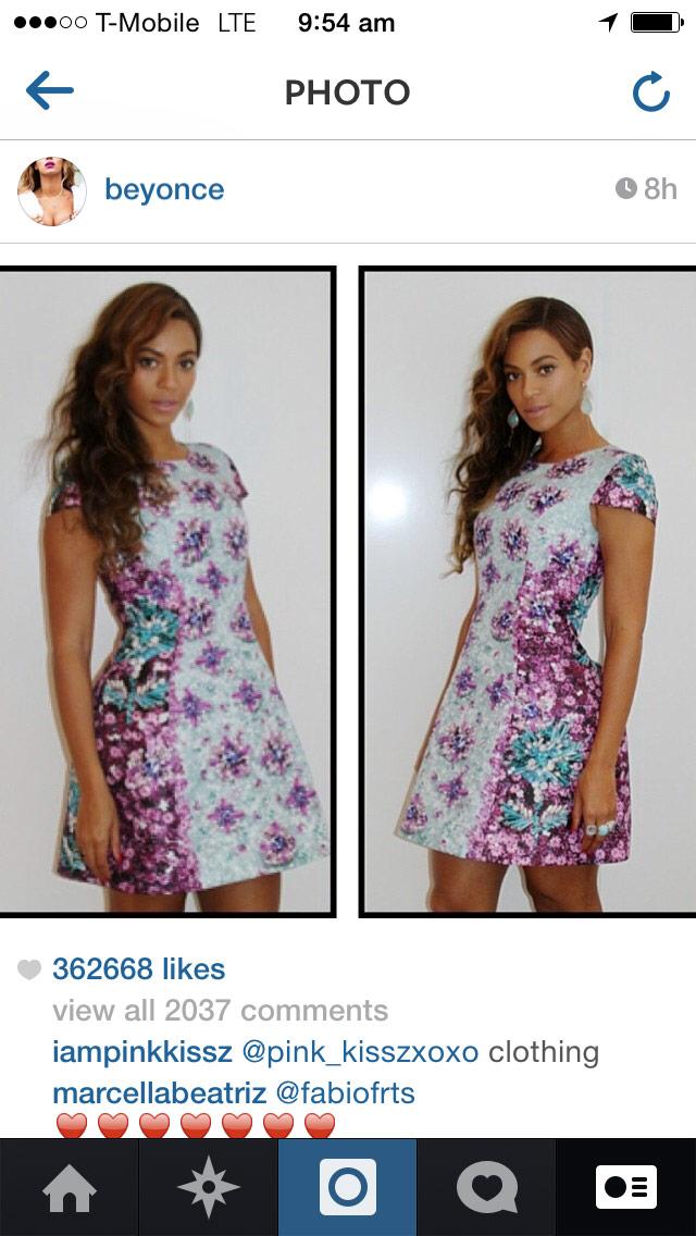 Beyoncé, May 2014
