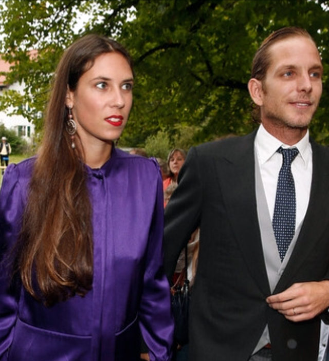 Tatiana and Andrea Casiraghi