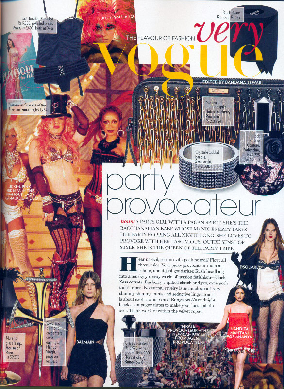 Vogue India, November 2008