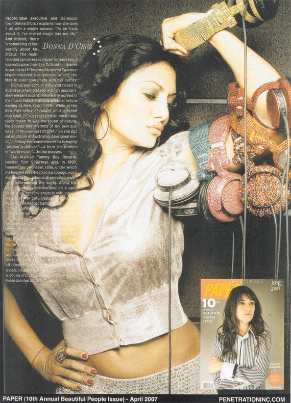 Paper, April 2007