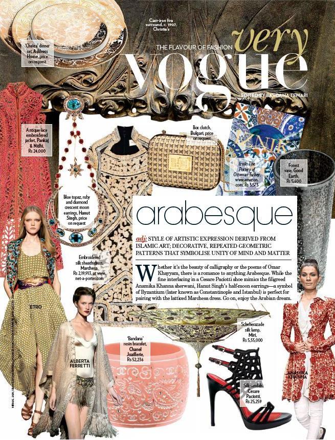 Vogue, August 2009