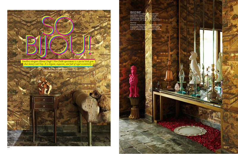 Architectural Digest, September 2012